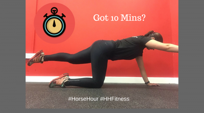 Not Got Time To Exercise? Join The #HorseHour Fitness Challenge