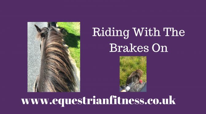 Riding With The Brakes On?