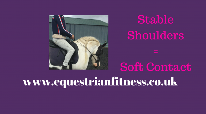 Stable Shoulders = Soft Contact