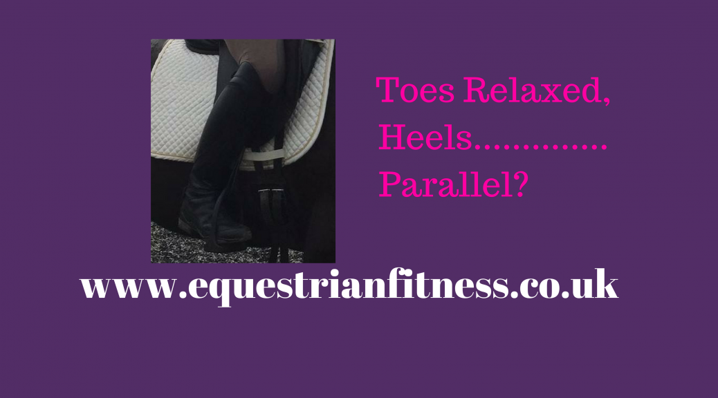 Toes Relaxed Heels Parallel