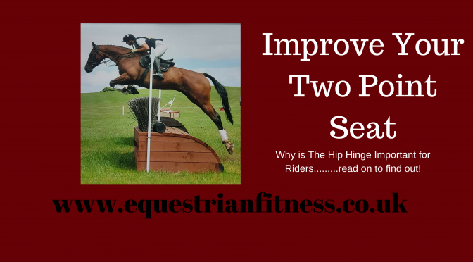 Improve Your Two Point Seat