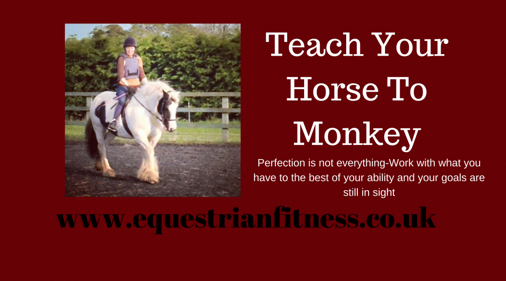 teach your horse to monkey