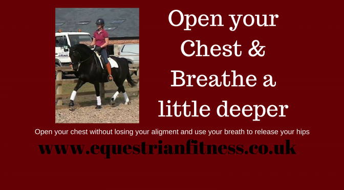 Open Your Chest And Breathe A Little Deeper