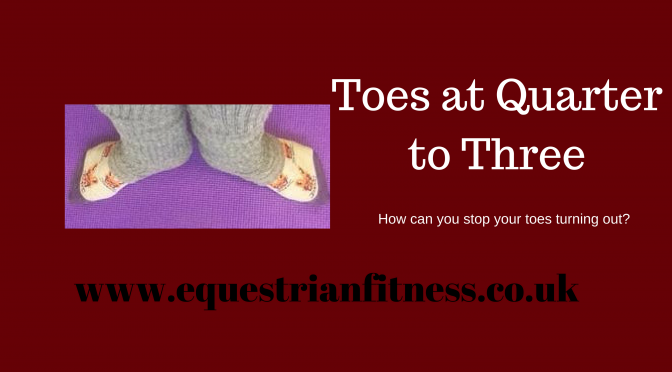 Toes at Quarter to Three