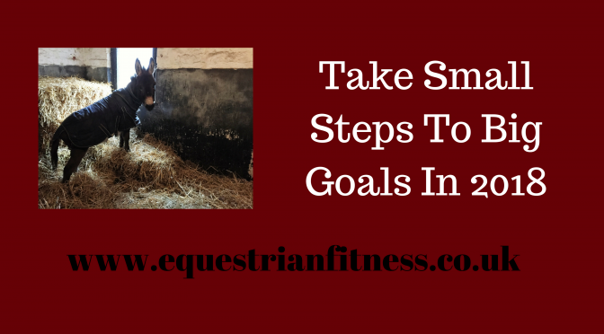 Small Steps to Big Goals in 2018