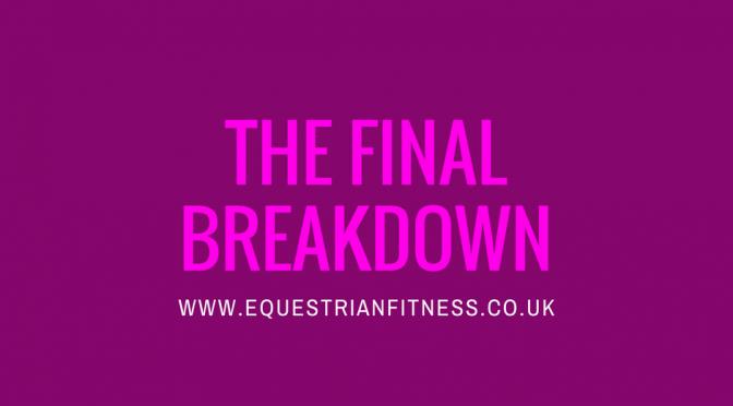 The Final Breakdown