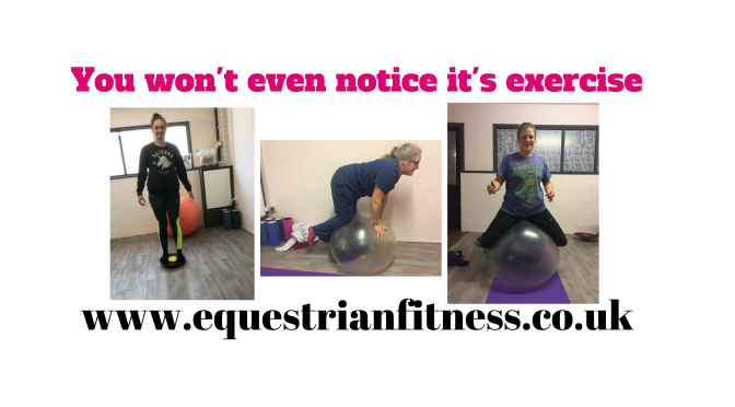 You won't even notice it's exercise