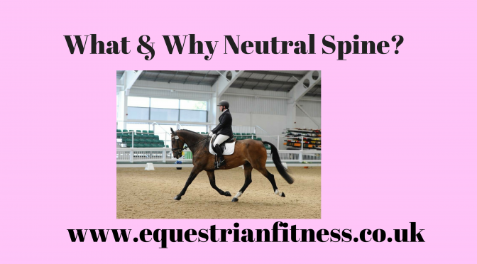 What & Why Neutral Spine?