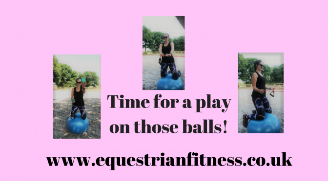 Let's Start Playing With Those Balls…..