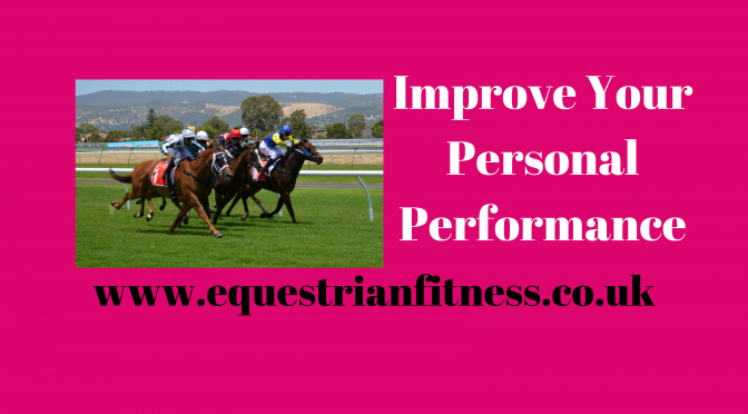 Improve Your Personal Performance