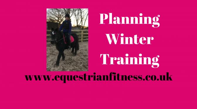 Planning Winter Training