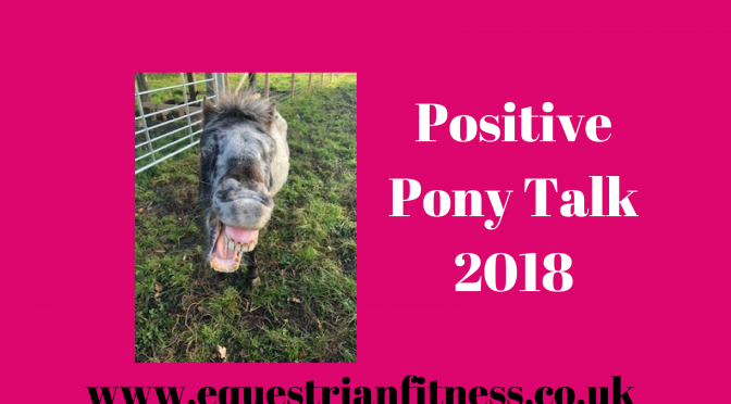 Positive Pony Talk for 2018