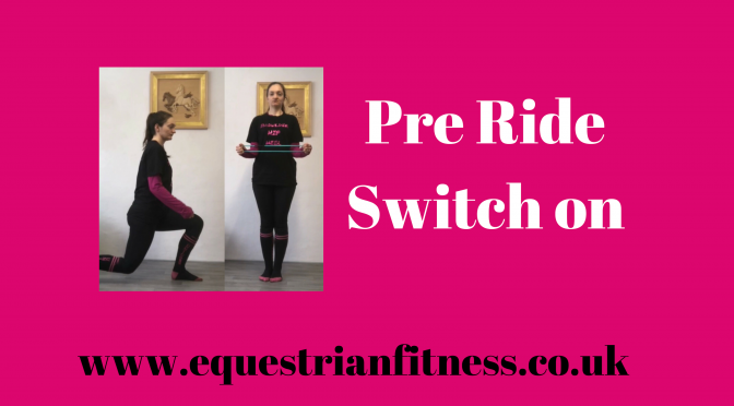 Pre Ride Switch On