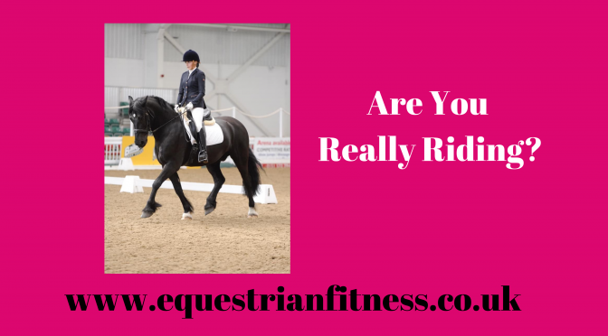 Are You Really Riding?