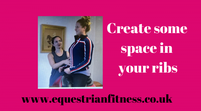 Create some space in your ribs