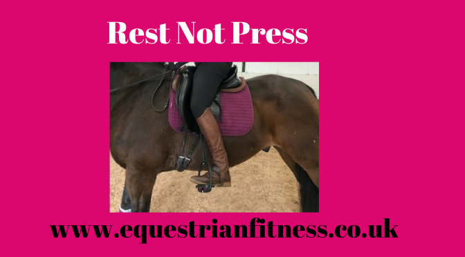 Rest not Press