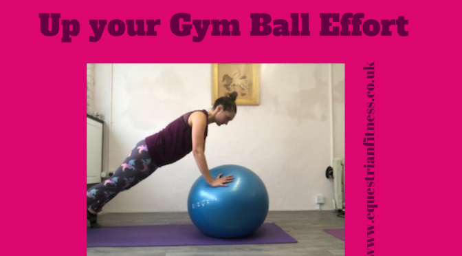 Up Your Gym Ball Efforts