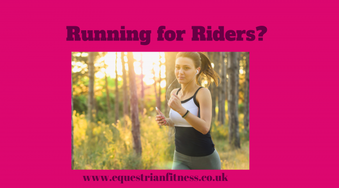Running for Riding?