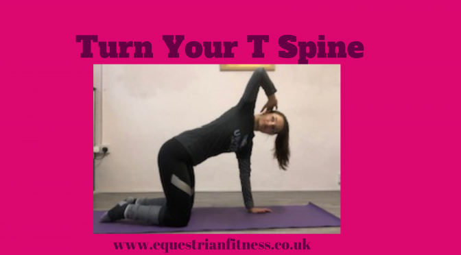 Turn your T Spine