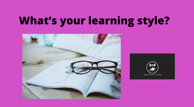 What's your learning style?